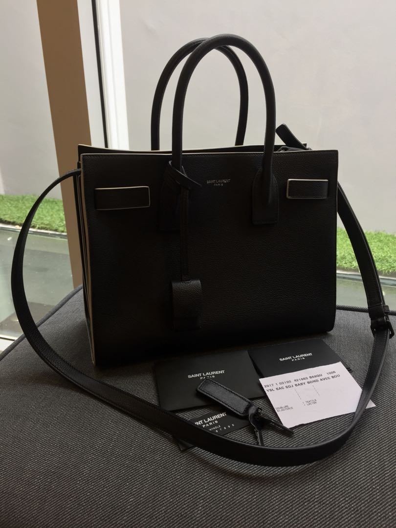 62079064628 YSL Sac De Jour Baby, Women's Fashion, Bags & Wallets, Handbags on Carousell