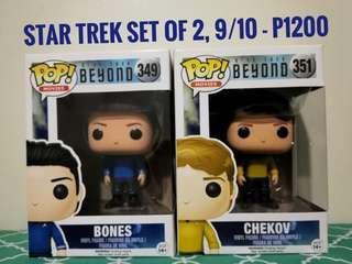 Star Trek Pair Bones and Chekov