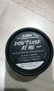 LUSH - Don't Look At Me Fresh Mask