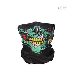 Skull/Clown Bandana