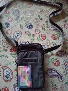 小型實用袋 男裝斜孭袋 (軍綠色) 2