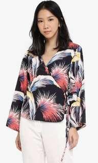 Zalora Kimono Wrap Top
