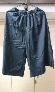 🚚 深藍色寬褲