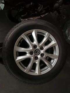 Mazda3 Original Rims (4 pcs)