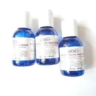 kiehl's ultra facial oil free toner 40ml x1