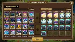 Selling Summoners War Account