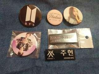 Pin / Name tag / Kpop Stuff