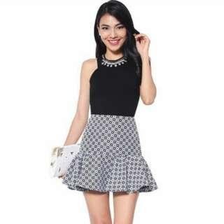 LOVE BONITO Solaire Skirt