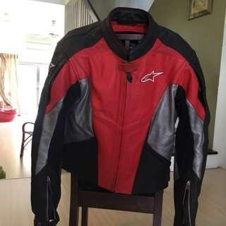 Alpinestars Motorcycle Leather Jacket