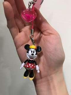 🚚 迪士尼 米妮 鑰匙圈 吊飾