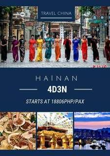 Hainan (China) All In Promo Package