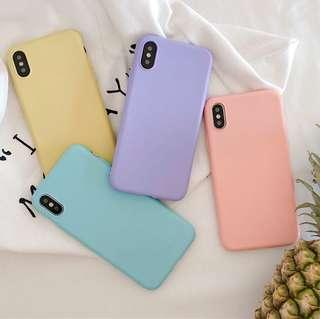 🚚 Preorder- Pastel Colour iPhone Cover