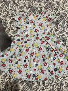 Mother care floral dress