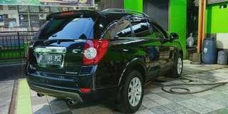 Chevrolet Captiva Diesel 2.0 A/T Tahun 2011 Warna Hitam.