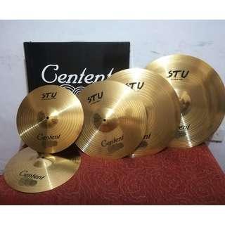 Centent Cymbals Set - STU Series