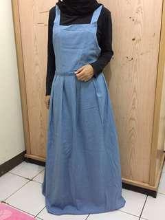 dress overall murah