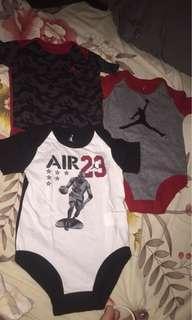 Jordan onesies