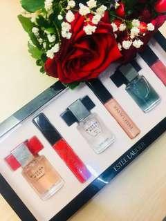Estee Lauder Gift Pack Perfume Lip Gloss