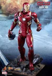 LF Hot Toys Civil War Iron Man Mark XLVI/46