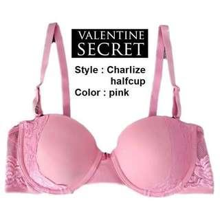 💯‼️NEW Pink Cute Bra Masih Baru