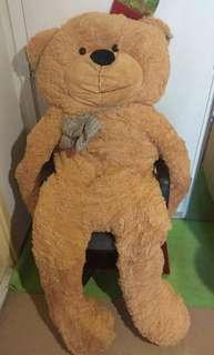 年霄時購買的公仔熊 2米高