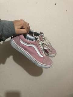Original Baby Pink Vans