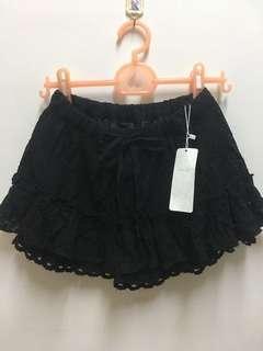 🚚 全新RETRO GIRL蕾絲褲裙