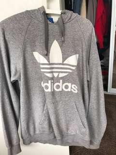 Adidas grey jumper