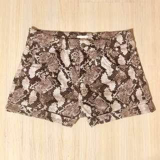 H&M🐍Python High-Waisted Shorts #MMAR18