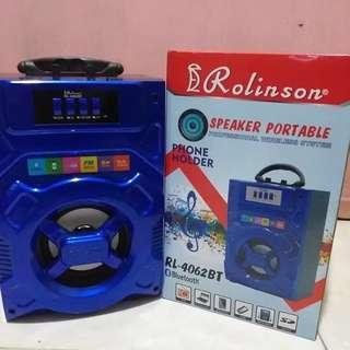 Termurah terlaris spiker bluetooth portable ROLINSON RL -4062BT
