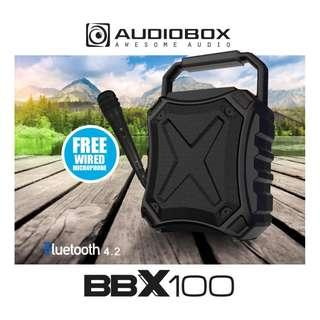 Portable Speaker Bluetooth 4.2 Aux IN TF Card Rechargeable Battery Free Microphone