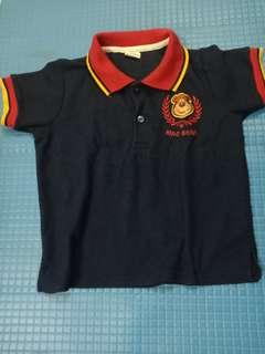 Polo Shirt kaos kerah kemeja navy