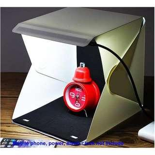Portable LED Light Tent Photography Studio Light Tent