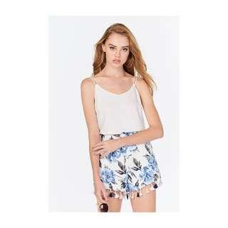 theclosetlover (TCL) Madelyn Floral Tassel Shorts