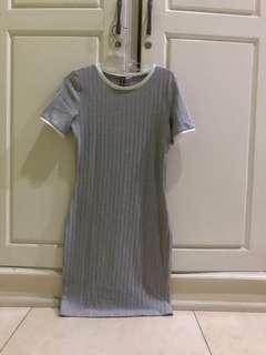 Dress H&M grey