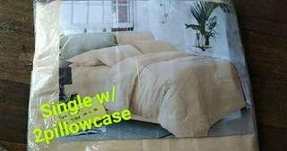 Bed sheet single size 3n1
