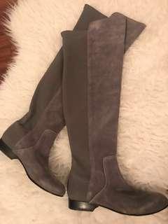 Grey OTK BCBG boots