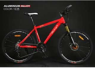"Raleigh 26"" X6s MTB Moutain Bike"