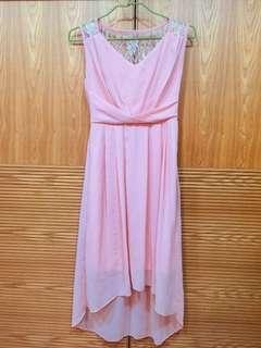 🚚 【兩件一起賣】小禮服,連長身裙,➕透明罩衫