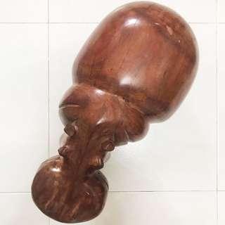 Hippopotamus Wood Carving