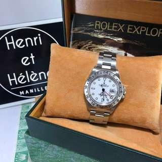 Rolex Explorer 2 White Face with Date 1998