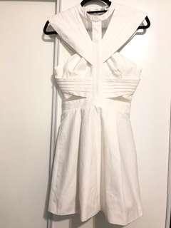 Cameo white party dress XS