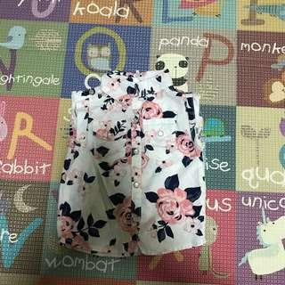 Carters Floral Shirt - 12 months old
