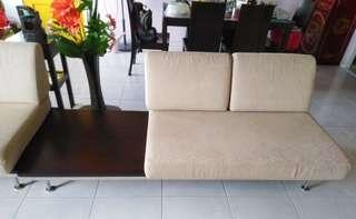 Sofa with solid wood for sale