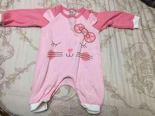 🚚 女寶連身衣(3-6個月)