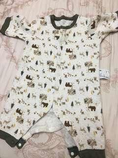 🚚 UNIQLO寶寶連身衣(0-3個月)