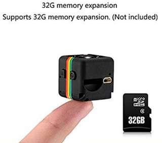SQ11 Mini DV Camera 1080P HD Hidden Motion Dedection Camera