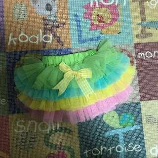 🚚 Colourful rainbow tutu for babygirls (6-12 months old)