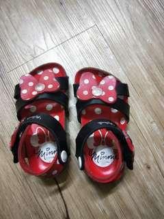🚚 【贈】女童米妮涼鞋