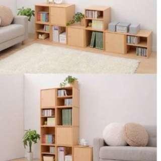 DIY Modular Cube Storage Cabinet Rack Shelf Box Storage